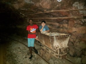 Visit to the Natural History Museum in Bulawayo with Bukhosi & Antonio