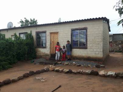 Visit to Zeni's (Sibling Set of Five) home in Pumula