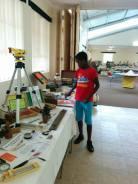 Martin Sanderson Educational Exhibit at Whitestone School